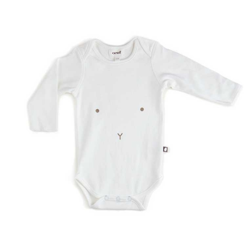body onesie - manches longues - lapin - oeuf nyc