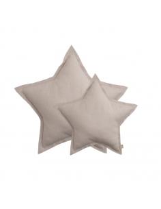 Coussin étoile, Tulle poudre scintillant