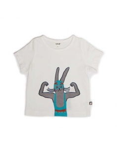 t-shirt lapin catcheur - oeuf nyc
