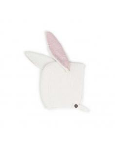bonnet animal - lapin - blanc - oeuf nyc