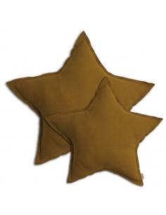 Coussin étoile Gold