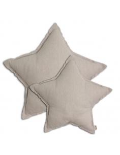 Coussin étoile Poudre