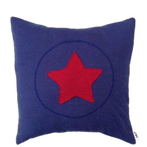 Coussin Super héros, Bleu marine