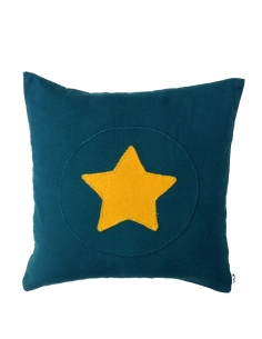 TEAL BLUE CUSHION  - SUPER...