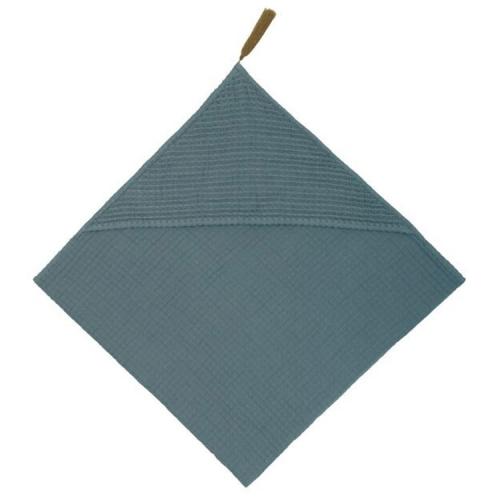 Serviette à capuche, Gris bleu