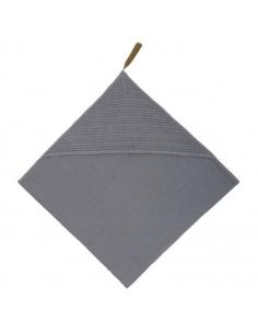 Serviette à capuche, Stone grey