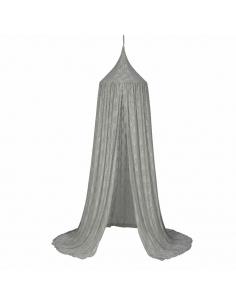 Canopy Dentelle, Gris argent