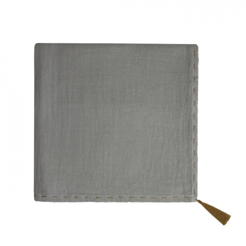 Lange Nana - Gaze gris argent