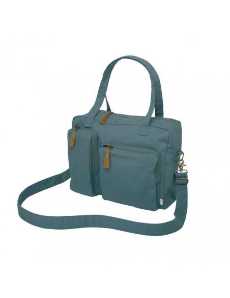 Sac à langer multi bag + Baby kit - Gris bleu
