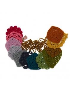 Guirlande au crochet, Multicolor