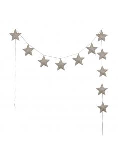 Guirlande d'étoiles scintillantes, Gold