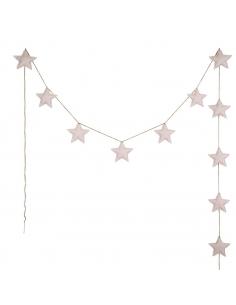 Guirlandes étoiles de coton, Poudre