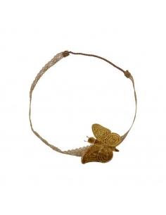 Serre-tête papillon, Gold