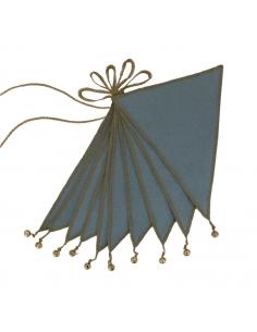 Guirlande de Fanions, Gris bleu