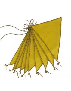 Guirlande de Fanions, Jaune tournesol