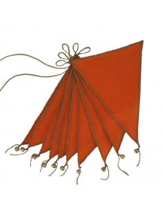 Guirlande de Fanions, Orange