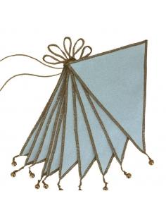 Guirlande de Fanions, Sweet Blue