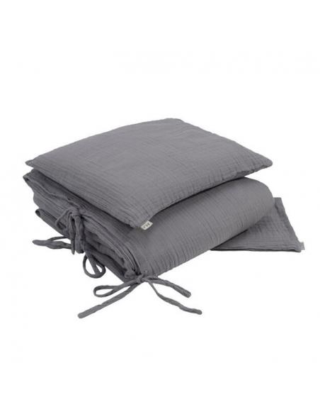 Parure de lit, Stone grey