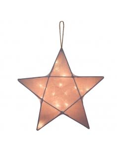 Lanterne étoile, Stone grey