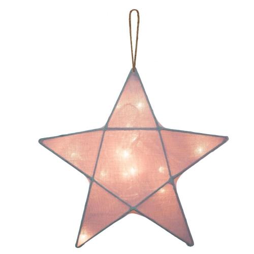 Lanterne étoile, Vieux rose