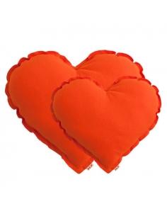Coussin Cour - Orange