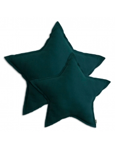 Coussin étoile - vert