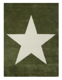 TAPIS  EN LAINE - BIG STAR...