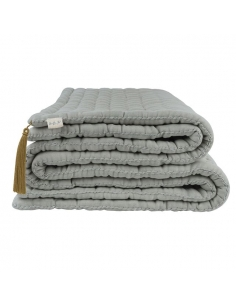 Tatami Quilt - Numéro 74 - Silver grey