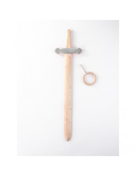Epée argent avec crochet ceinture - Foulon