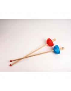 Fleuret rouge avec crochet ceinture - Foulon