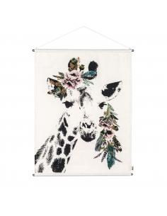 Embroidery Crazy Giraffe Poster - Numéro 74