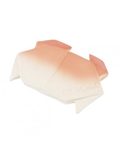 Anneau de dentition et jeu de bain - Origami crabe - Oli & Carol