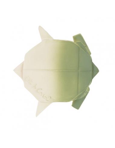 Anneau de dentition et jeu de bain - Origami tortue - Oli & Carol