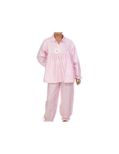 Pyjama Julie - Pink flowers - Des fils et des Nuits