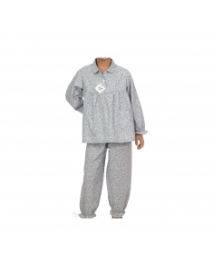 Pyjama Julie - Carmin - Des fils et des Nuits