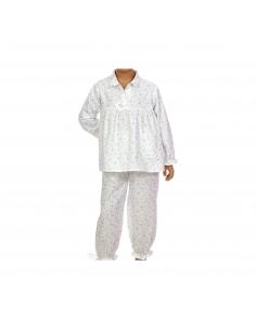 Pyjama Julie - Flocons - Des Fils et des Nuits