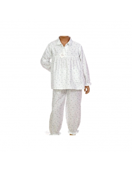 Pyjama Julie - Flakes - Des Fils et des Nuits