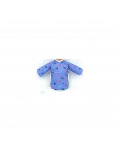 Bib sleeve in coated cotton - Tango - Des Fils et des Nuits