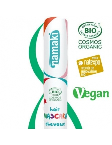 Mascara pour cheveux - Bio - Vert - Namaki